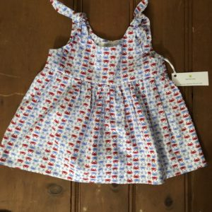 crab print sundress
